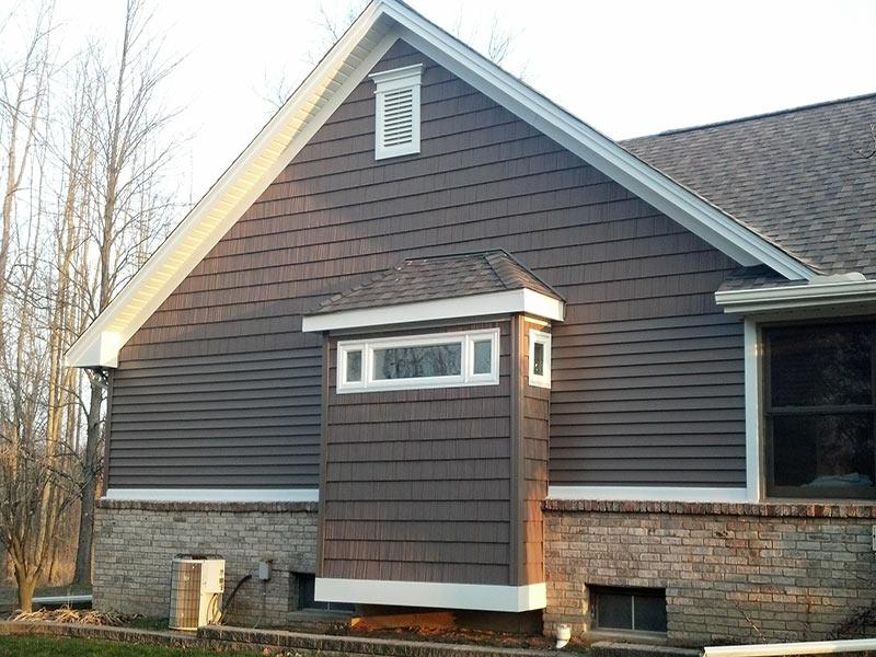 New Siding and Trim